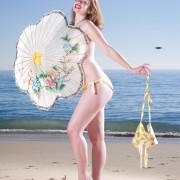 Beach Blanket Pin Up Bikini